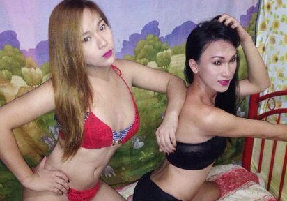 hi there babe welcome here - Bilder von LadyboyPia+LadyboyNelly